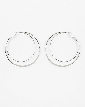 60/70mm Double Hoop Earrings