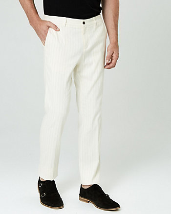 Stripe Linen Blend Pant