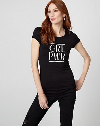 GRL PWR Graphic Tee