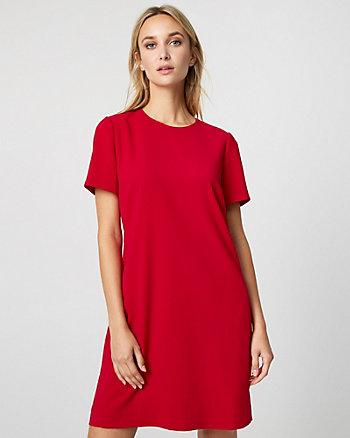 Crêpe de Chine Tunic Dress