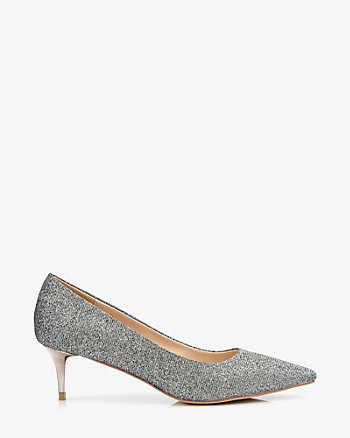 Pointy Toe Kitten Heel Pump