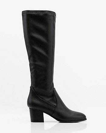 Stretch Knee High Boot