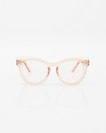 Clear Cat Eye Glasses