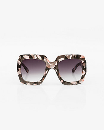 Floral Oversized Sunglasses