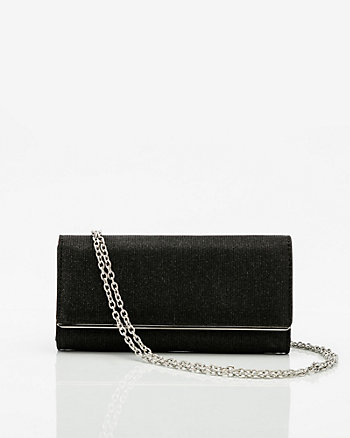 Metallic Crossbody Wallet