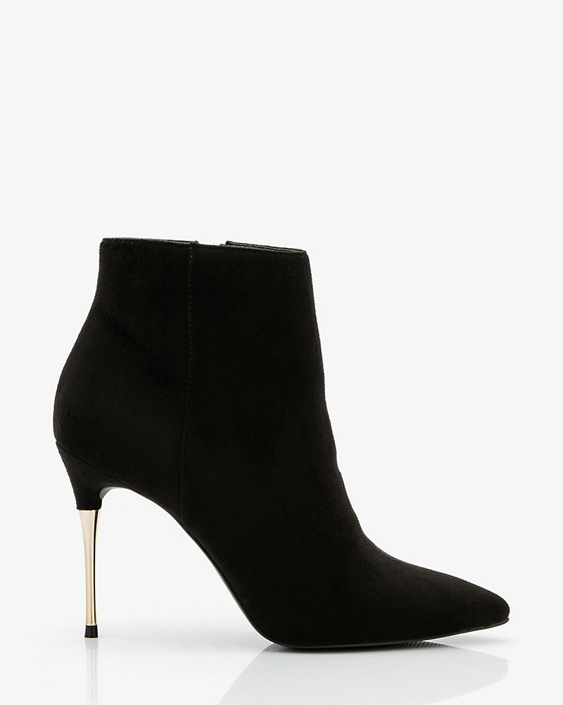 a1a1ddec6cd LE CHÂTEAU: Pointy Toe Stiletto Heel Ankle Boot