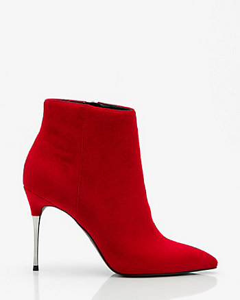 Pointy Toe Stiletto Heel Ankle Boot
