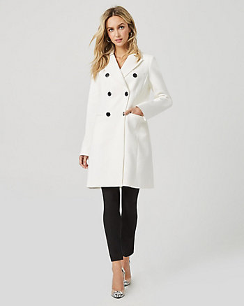 Cotton Twill Double Breasted Lightweight Coat