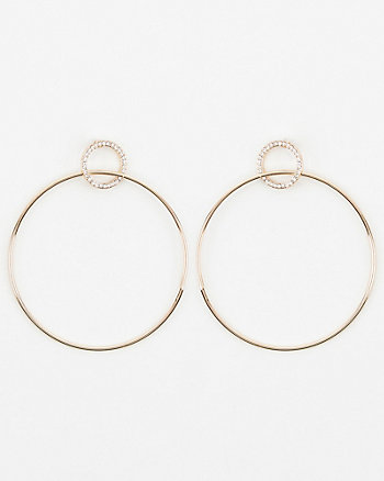 15mm/60mm Hoop Earrings
