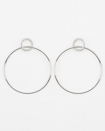 15mm/60mm Hoop Earrings