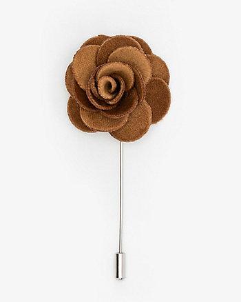 Velvet Flower Lapel Pin