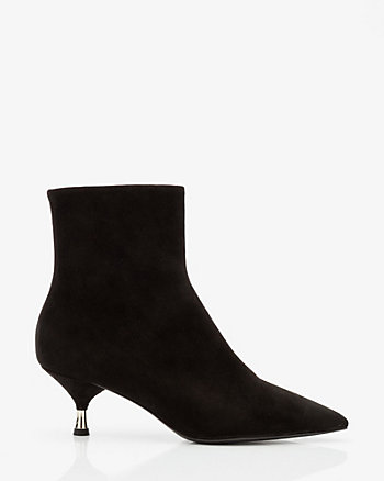 Italian-Made Suede Ankle Boot