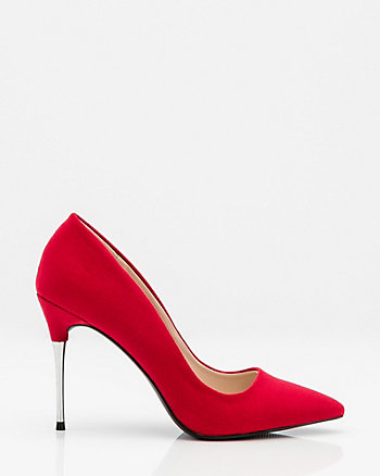 Pointy Toe Pin Heel Pump
