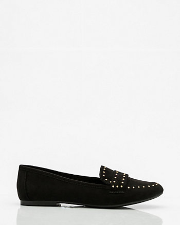 Studded Round Toe Loafer