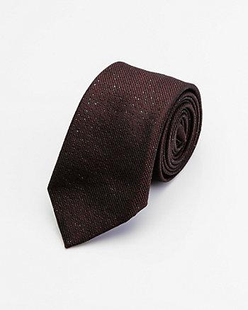 Tonal Print Silk Blend Tie