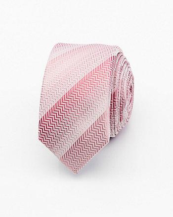 Stripe Silk Skinny Tie
