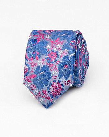 Floral Microfibre Tie