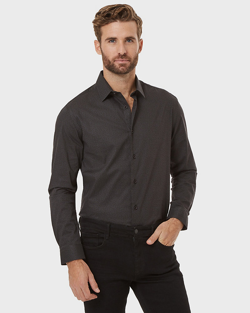 79fdaf21c7eb YOU MAY ALSO LIKE. Previous. image. Geo Print Cotton Poplin Tailored Fit  Shirt