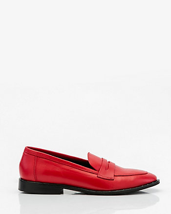 Italian-Made Studded Leather Loafer