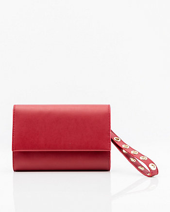 Leather-Like Clutch