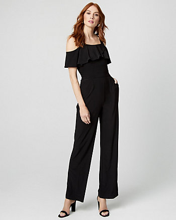 Knit Wide Leg Jumpsuit