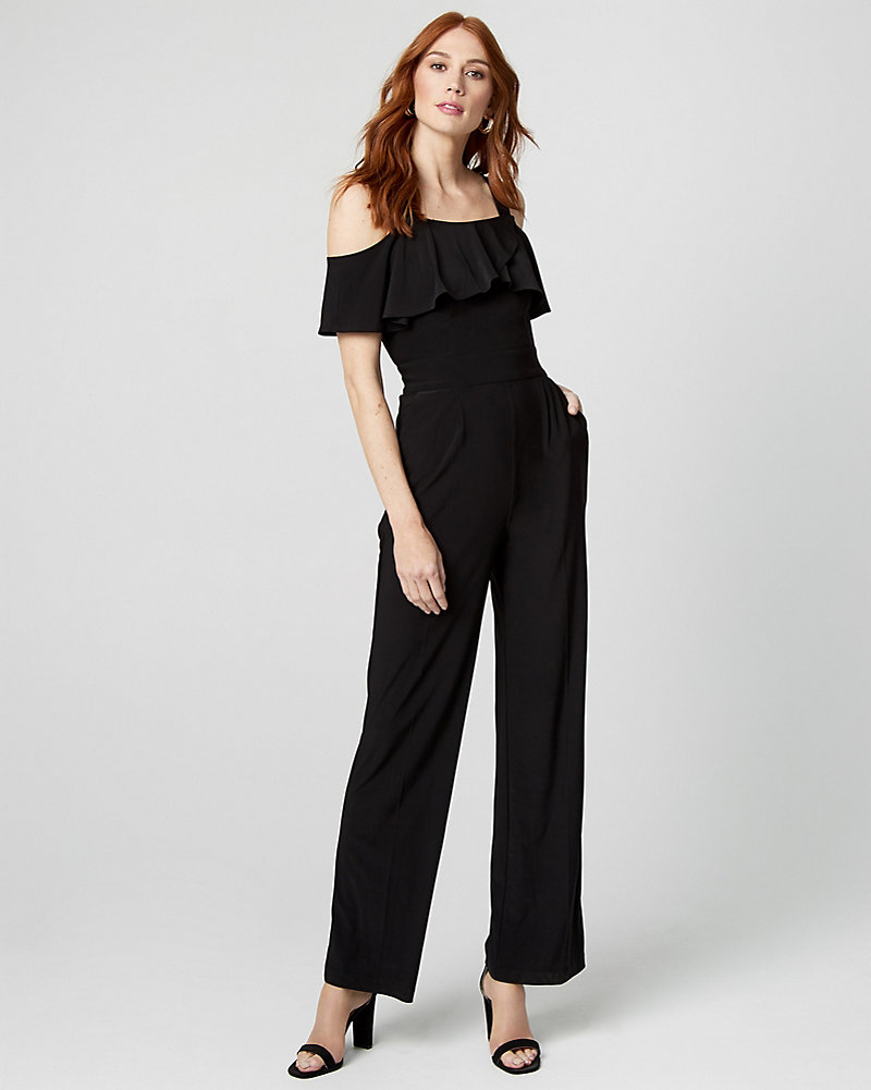 e95f895591 Knit Wide Leg Jumpsuit
