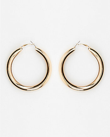 65mm Metal Hoop Earrings
