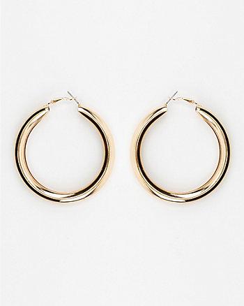 65mm Metal Hoop Earrings