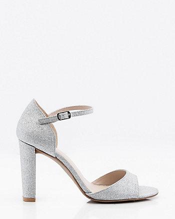 Glitter Open Toe Sandal