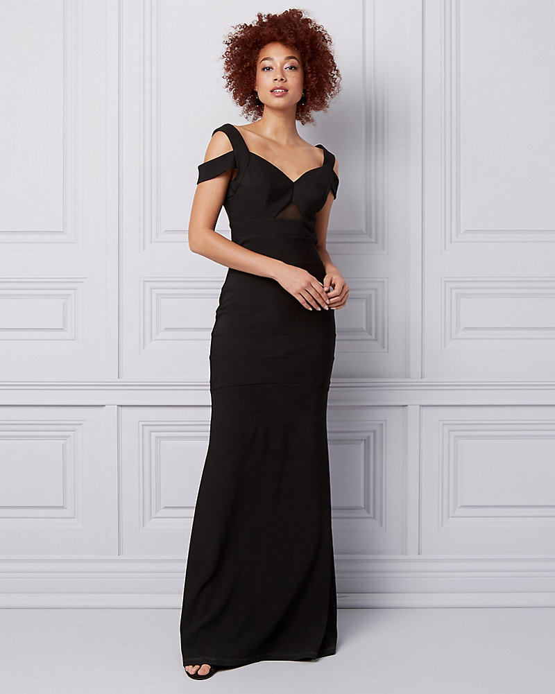 YOU MAY ALSO LIKE. Previous. image Made in Canada. Knit Crêpe Halter V-Neck  Gown cd40a4626