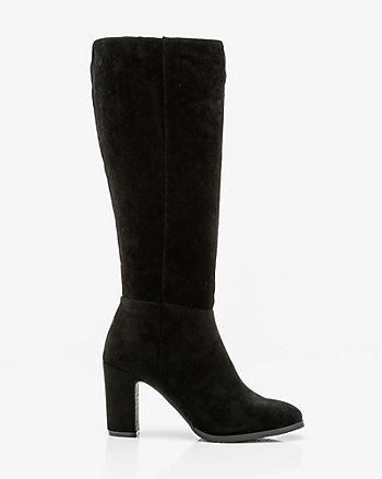Round Toe Knee-High Boot