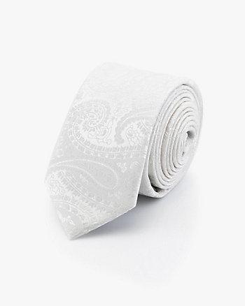 Cravate à motif cachemire ton sur ton