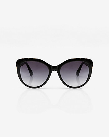 Floral Design Cat Eye Sunglasses