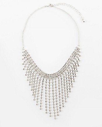 Gem Fringe Necklace