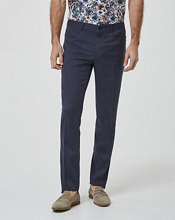 Pantalon à jambe étroite
