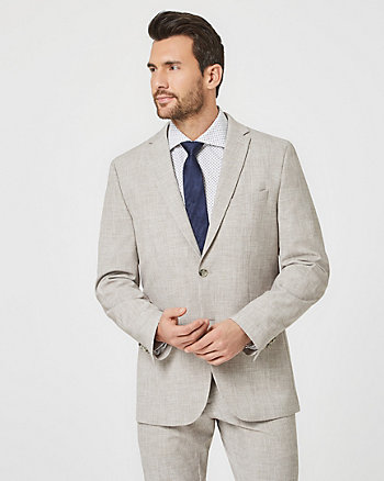 Viscose Blend Contemporary Fit Blazer