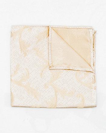 Mouchoir de poche à motif en microfibre