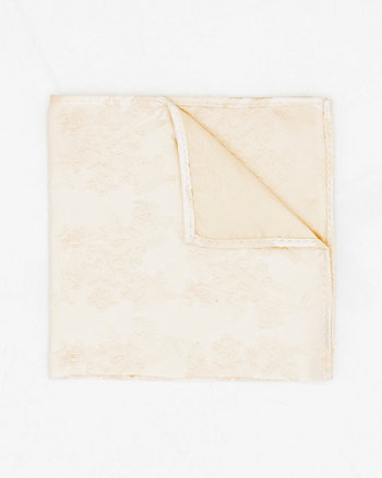 Tonal Print Microfibre Pocket Square
