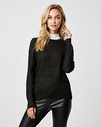 Knit Crew Neck Sweater