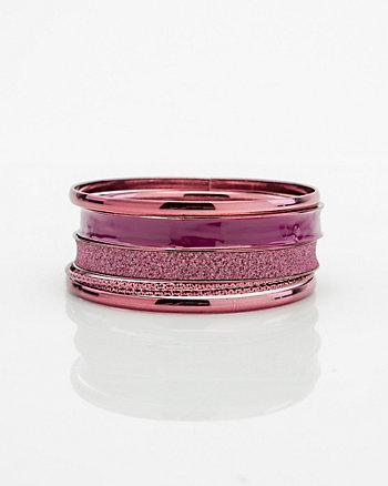 Set of Six Bangle Bracelets