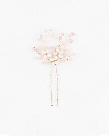 Gem & Pearl-Like Bobby Pin