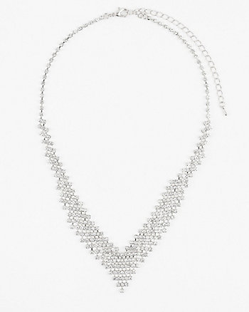 Gem Collarbone Necklace