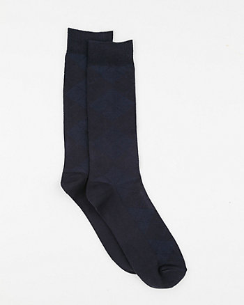 Tonal Bamboo Knit Sock