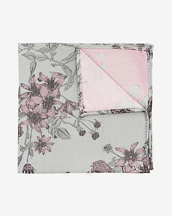 Mouchoir de poche à motif floral
