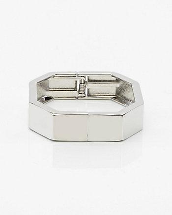 Bracelet-manchette octogonal