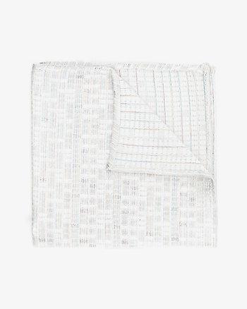 Mouchoir de poche à carreaux