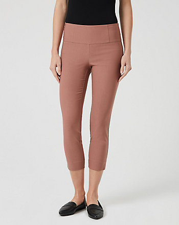 Technical Stretch Skinny Crop Pant