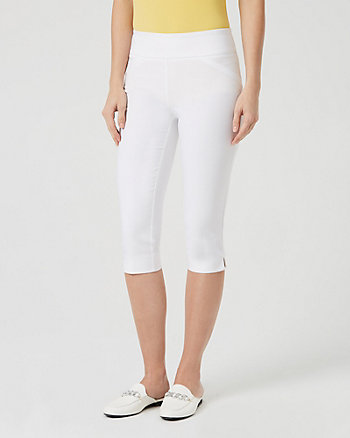 Technical Stretch Skinny Leg Cropped Pant