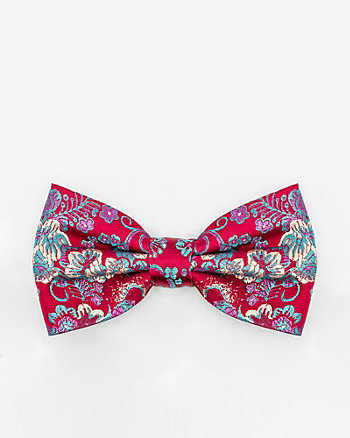 Floral Print Bow Tie