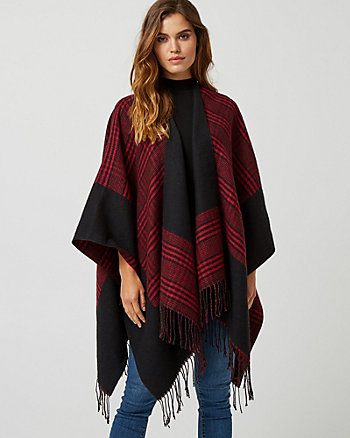 Reversible Open-Front Poncho